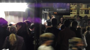 A busy night at the Sun Theatre, Yarraville.