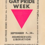 Gay Pride Week Poster